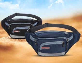 Túi đeo bụng cao cấp chống nước chạy bộ Tidaizhe Loại 1 BT99.125-Đen