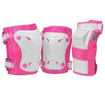 Bộ phụ kiện bảo vệ bé gái ba món Roller Derby Cruiser 3000 (Khủy tay, đầu gối, cổ tay)