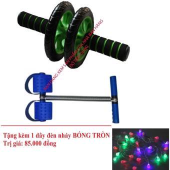 Bộ 2 dụng cụ tập thể dục toàn thân + Tặng dây đèn nháy