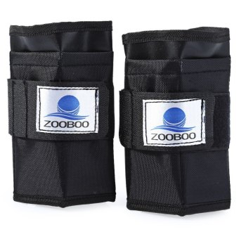 2pcs 5kg Adjustable Tying Hand Wrap Wrist Weight Exercise - intl