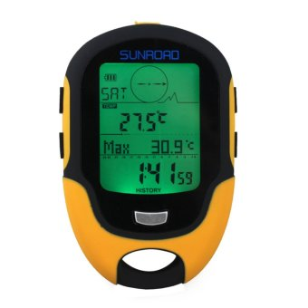 Waterproof FR500 Multifunction LCD Digital Altimeter Barometer Compass (Intl:)