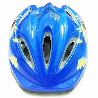Mũ bảo hiểm cho trẻ em đi xe đạp - siêu nhân