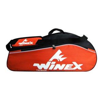 Bao vợt cầu lông WINEX WR-750 (Cam)