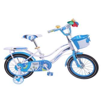 Xe đạp thể thao trẻ em (Xanh lam trắng)