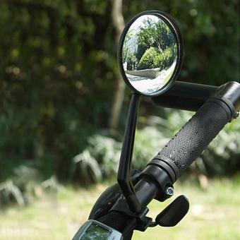 Cycling Bike Bicycle Handlebar Flexible Safe Rear View Rearview Mirror - Intl