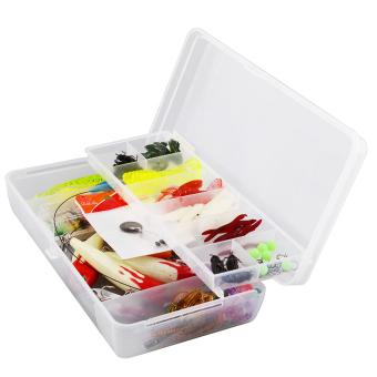 100pc Kind of Fihingure CrankBagit Hook innow Bag Bagit Tacke+Box