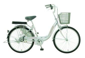 Xe đạp thời trang Asama CB 2402 (Bạc)