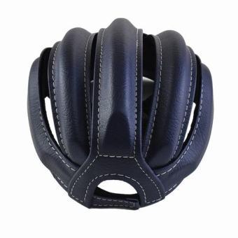 Mũ Bảo Hiểm Xe Đạp 3 Sọc (Xanh Đen)