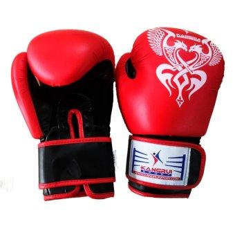 Găng Tay Boxing chuyên dụng người lớn (đỏ)