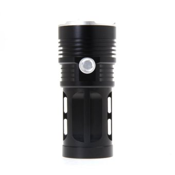 20000LM 8x CREE XM-L T6 Flashlight Torch 4x 18650 Hunting Lamp (Black) - intl