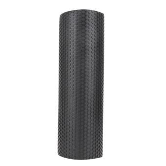 45x15cm EVA Foam Roller Yoga Pilates with Massage Floating Points(Black) - intl