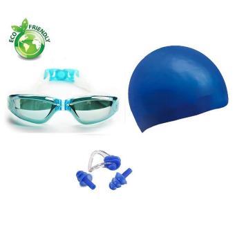 Kính bơi, Mũ bơi, bịt tai kẹp mũi 2360 POPO Sport
