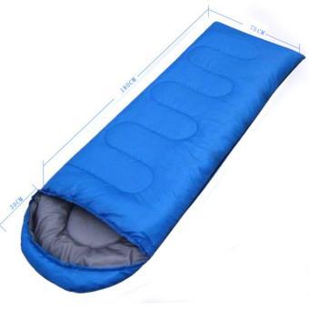 Túi ngủ văn phòng, dã ngoại thông minh A243 (xanh lam)