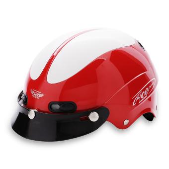 Nón bảo hiểm nửa đầu ACE - AN01 (Đỏ trắng)