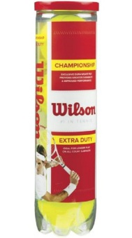 Hộp 4 hộp bóng Tennis Wilson Champion