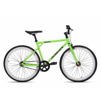 Xe đạp thể thao Fixgear , hiệu FORNIX-BF24 ( xanh lá )