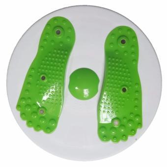 Đĩa xoay eo kết hợp Massager chân
