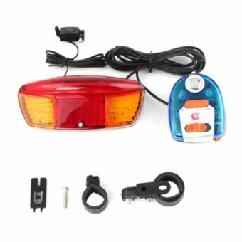 Bộ còi và đèn tín hiệu xe đạp XC-604