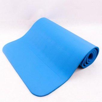 Thảm tập Yoga siêu bền loại dày 10mm TPE Xanh