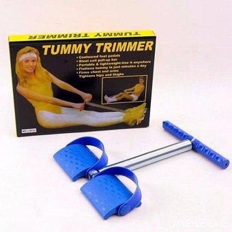 Dây kéo tập lưng bụng cao cấp cải tiến Tummy Trimmer( Xanh)cỡ lớn