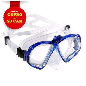 Kính lặn ống thở HOẶC Kính lặn không gồm ốm thở gắn được Camera hành trình GOPRO - POPO Sports