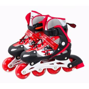 Giày trượt Patin cao cấp dành cho trẻ em - màu đỏ