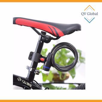 Khóa dây xe đạp chống trộm, bền đẹp (1 Mét)