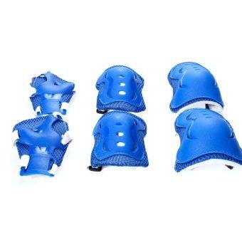 Bộ bảo vệ tay chân cho bé chơi thể thao Sopifun Shop (Xanh)