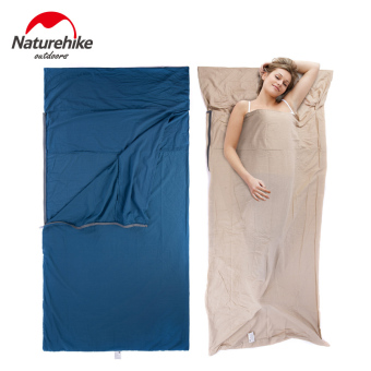 Naturehike Portable Cotton Widened Sleeping Bag SIZE M(FLAXEN) - intl