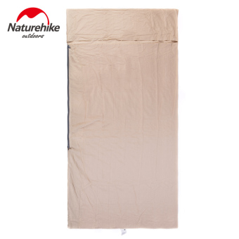 Mua Naturehike Portable Cotton Widened Sleeping Bag SIZE M(FLAXEN) - intl giá tốt nhất
