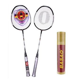 Bộ vợt cầu lông Haotian 7729