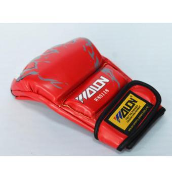 găng tay đấm bao cát / MMA (đỏ)