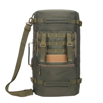 Outdoor Mountaineering Tactical Backpacks Hiking Camping Travel(ArmyGreen) - intl