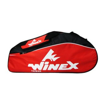 Bao vợt cầu lông WINEX WR-760 (Đỏ đen)