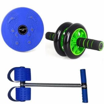 Bộ 3 dụng cụ thể dục toàn thân tiện dụng trong nhà (Blue)