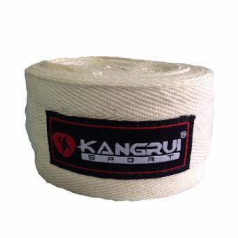 Băng cuốn tay tập võ Kangrui KB 802 ( Trắng)