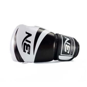 Găng tay tập boxing BN size 12 ( Đen phối trắng )
