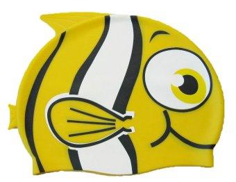 Mũ bơi trẻ em hình cá ARYCA (Vàng)