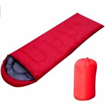 Túi ngủ văn phòng, dã ngoại thông minh loại lớn (Màu Đỏ)