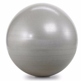 Bóng tập Yoga cao cấp 65cm trơn (ghi)