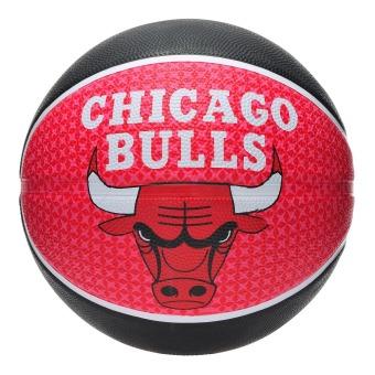 Quả bóng rổ Spalding Chicago Bulls (Đỏ đen)