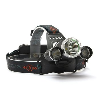 10000Lm 3x XM-L T6 LED Rechargeable Headlight Headlamp Head Torch 18650 NEW - intl