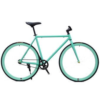 Xe đạp Fixed Gear Single Speed (Xanh ngọc)