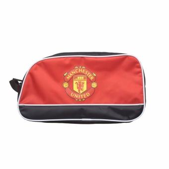 Túi đựng giày bóng đá 2 ngăn MU (Đỏ)