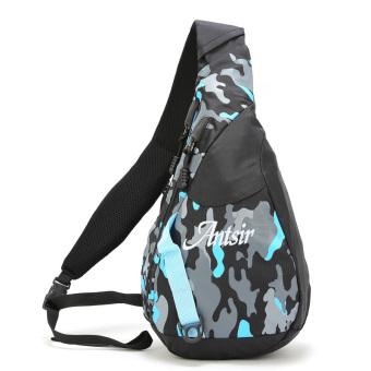 Túi chéo thể thao Antsir 101 (Rằn ri xanh dương)