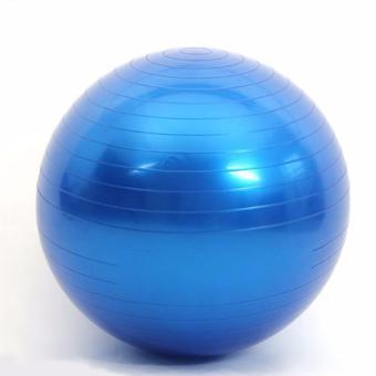 Bóng tập Yoga cao cấp 65cm trơn (xanh dương)