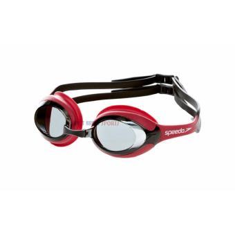 Kính bơi Speedo Merit Assorted (Đỏ đen)