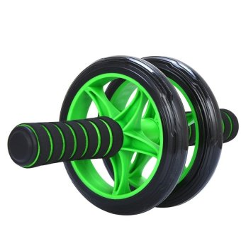 Máy tập cơ bụng bánh xe (Xanh lá)