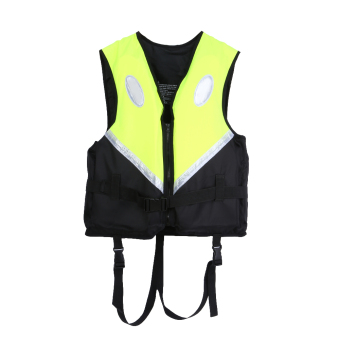 Professional Adult Life Jacket Vest Survival Suit (Green) - intl