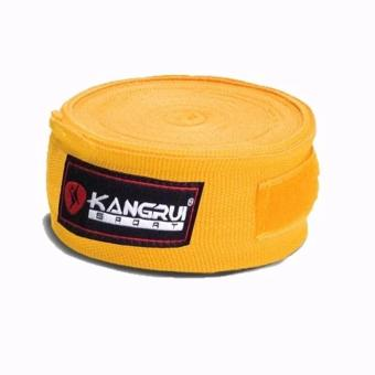 Băng quấn tay tập võ Kangrui Kb 802 (Vàng)